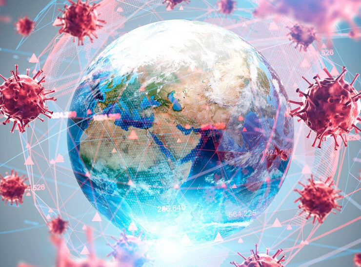 PANDEMIC: The global rise and fall of the virus spread in numbers 5