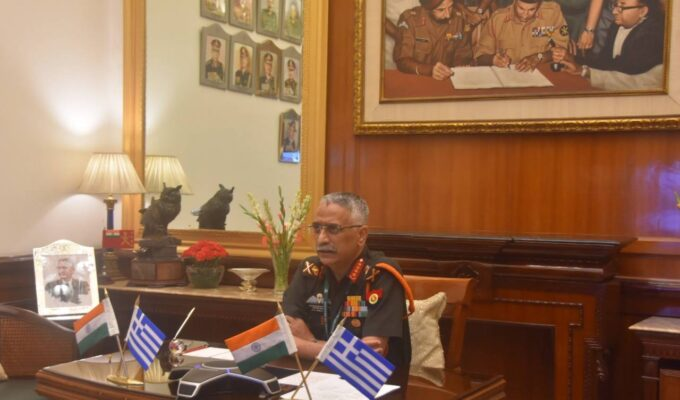 Indian Chief of the Army Staff of the Indian Army General Manoj Mukund Naravane