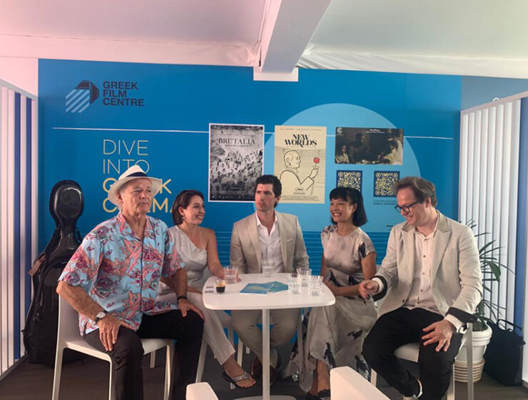 Bill Murray at the Greek Booth of the Cannes Film Festival 4