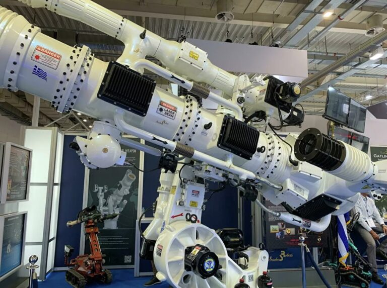 The Greek laser weapon that hits drones every 2-3 seconds