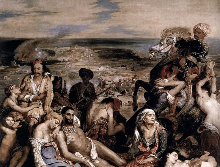 The Ottomans slaughtered some 10,000 during the Chios massacre: Online Lecture 13