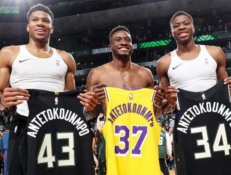 Giannis, Thanasis and Kostas Antetokounmpo become first three brothers to win NBA championships 1
