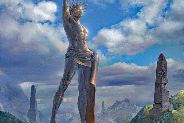 Colossus of Rhodes, Greece 4