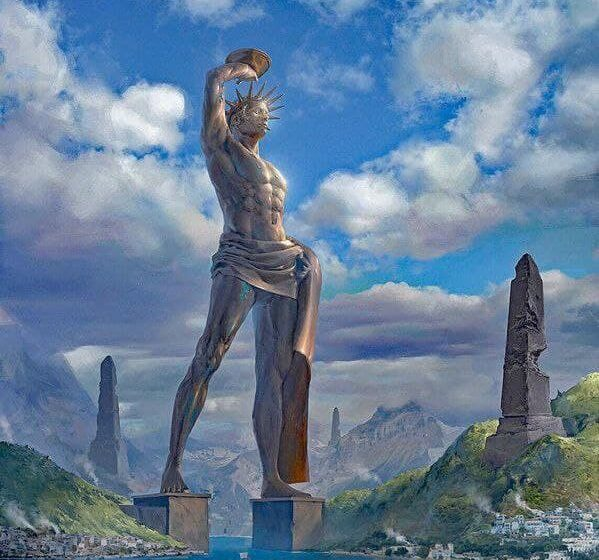 Colossus of Rhodes, Greece 1