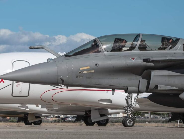 Greece: the first photo of a Hellenic Rafale 1