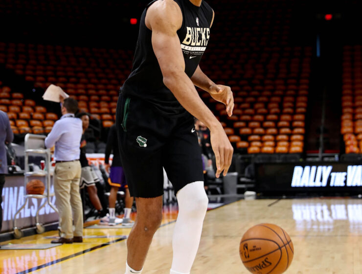 Giannis Antetokounmpo to play in Game 1 of NBA Finals 4