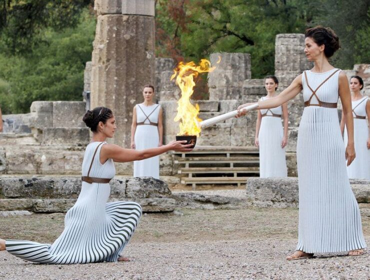 History of the Olympic flame 3