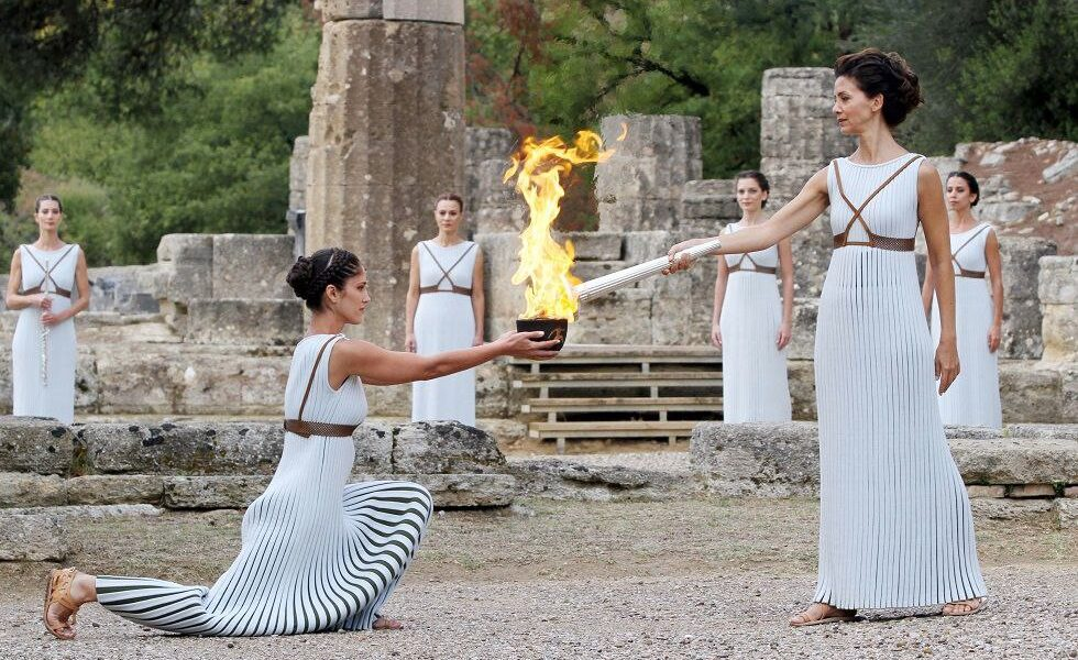 History of the Olympic flame 1