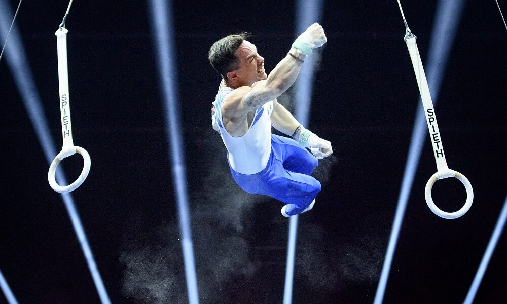 Eleftherios Petrounias is through to the final in the Tokyo Games 1