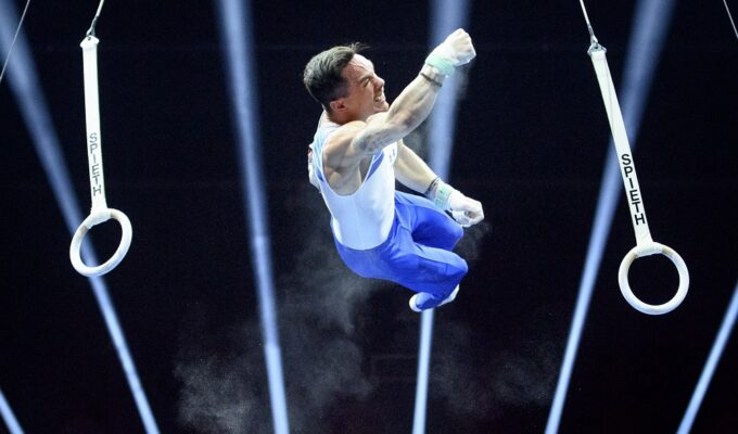 Eleftherios Petrounias is through to the final in the Tokyo Games 6