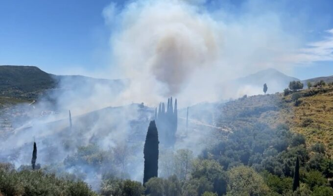 Warning of high fire risk for Ionian islands 1