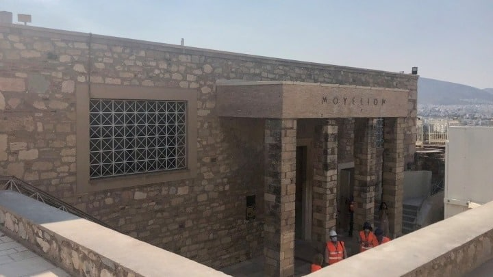 Old Athens Acropolis Museum being refurbished as exhibition space