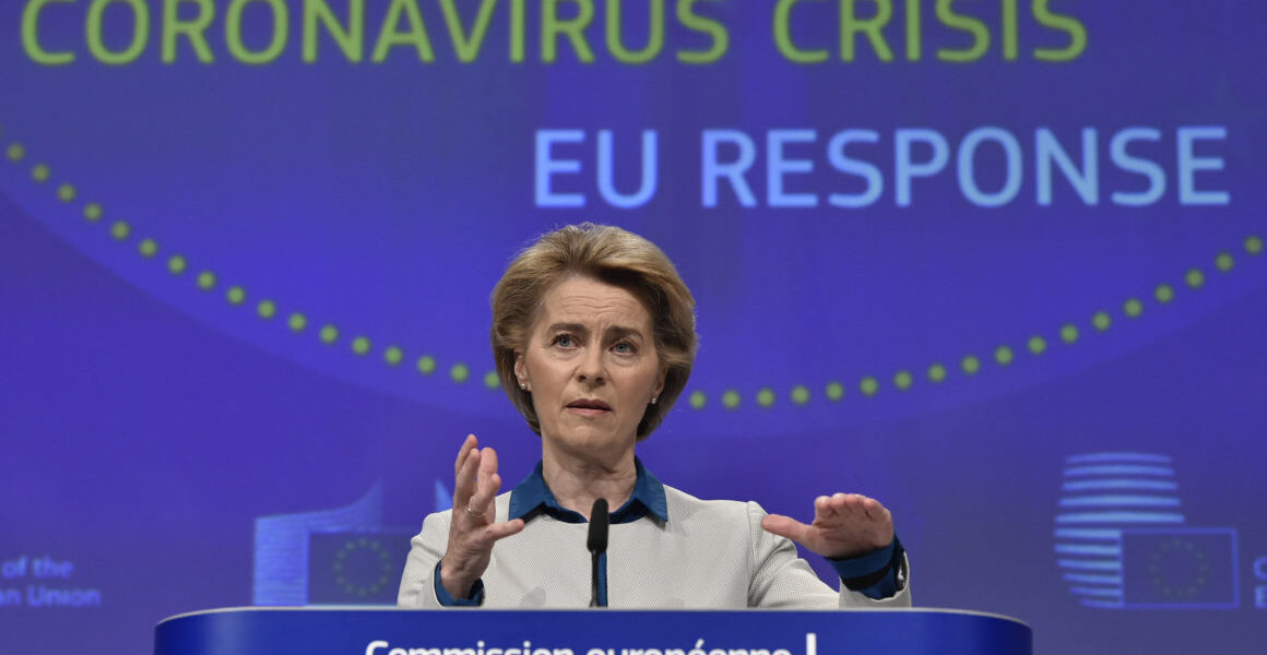 500 million doses for 70% of Europe's population delivered says Commission President 1