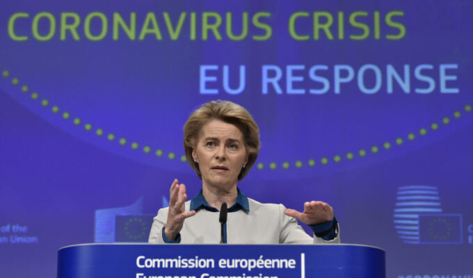 500 million doses for 70% of Europe's population delivered says Commission President 2