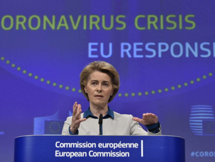 500 million doses for 70% of Europe's population delivered says Commission President 7