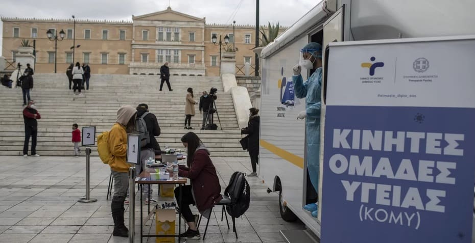 UPDATE SATURDAY 31 JULY: List of 41 free Covid-19 testing sites across Greece 1