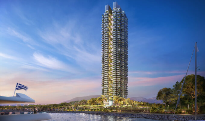 Foster+Partners Reveals Design for the Tallest Tower in Greece 2