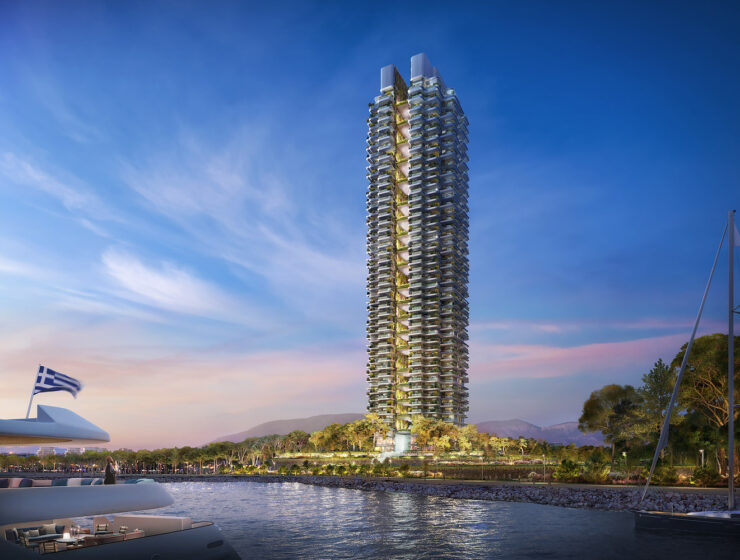 Foster+Partners Reveals Design for the Tallest Tower in Greece 11