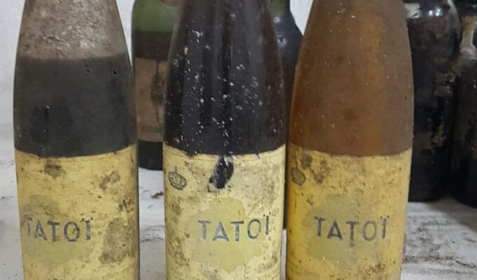 Rare wine and spirits collection discovered in residence of former Greek Royal Family 1