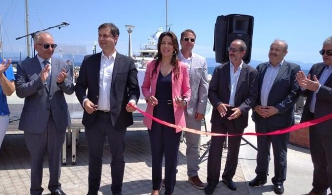 New boat shelter inaugurated in Corfu 2