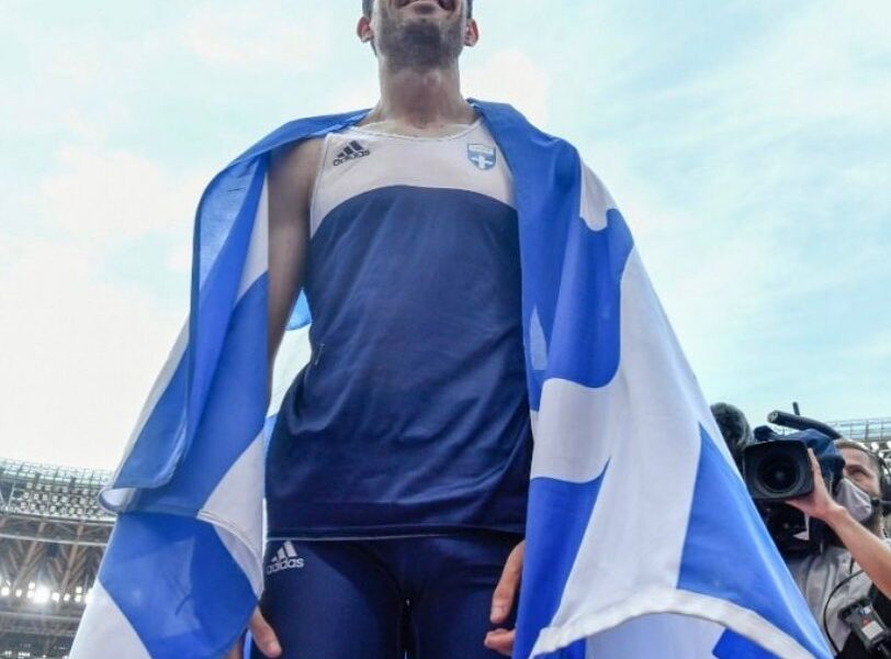 Toyko Olympics 2021: Miltiadis Tentoglou clinches men's long jump gold on the last attempt 1