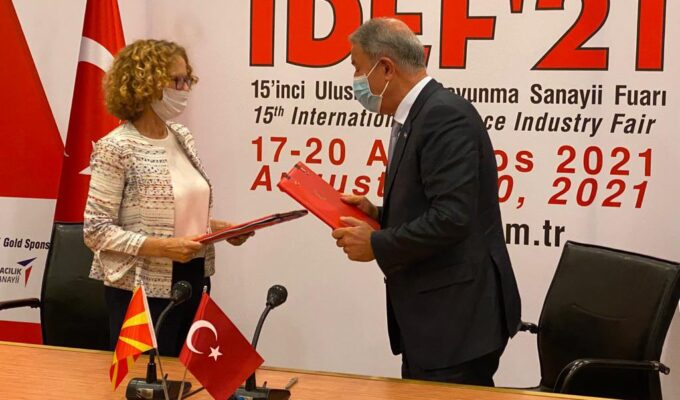 North Macedonia Signs Military and Economic Agreement with Turkey 2
