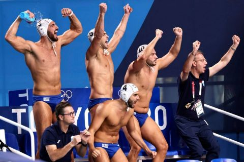 Tokyo 2020 : Greece Makes History in Water Polo Semifinal Win Over Favourites Hungary 4