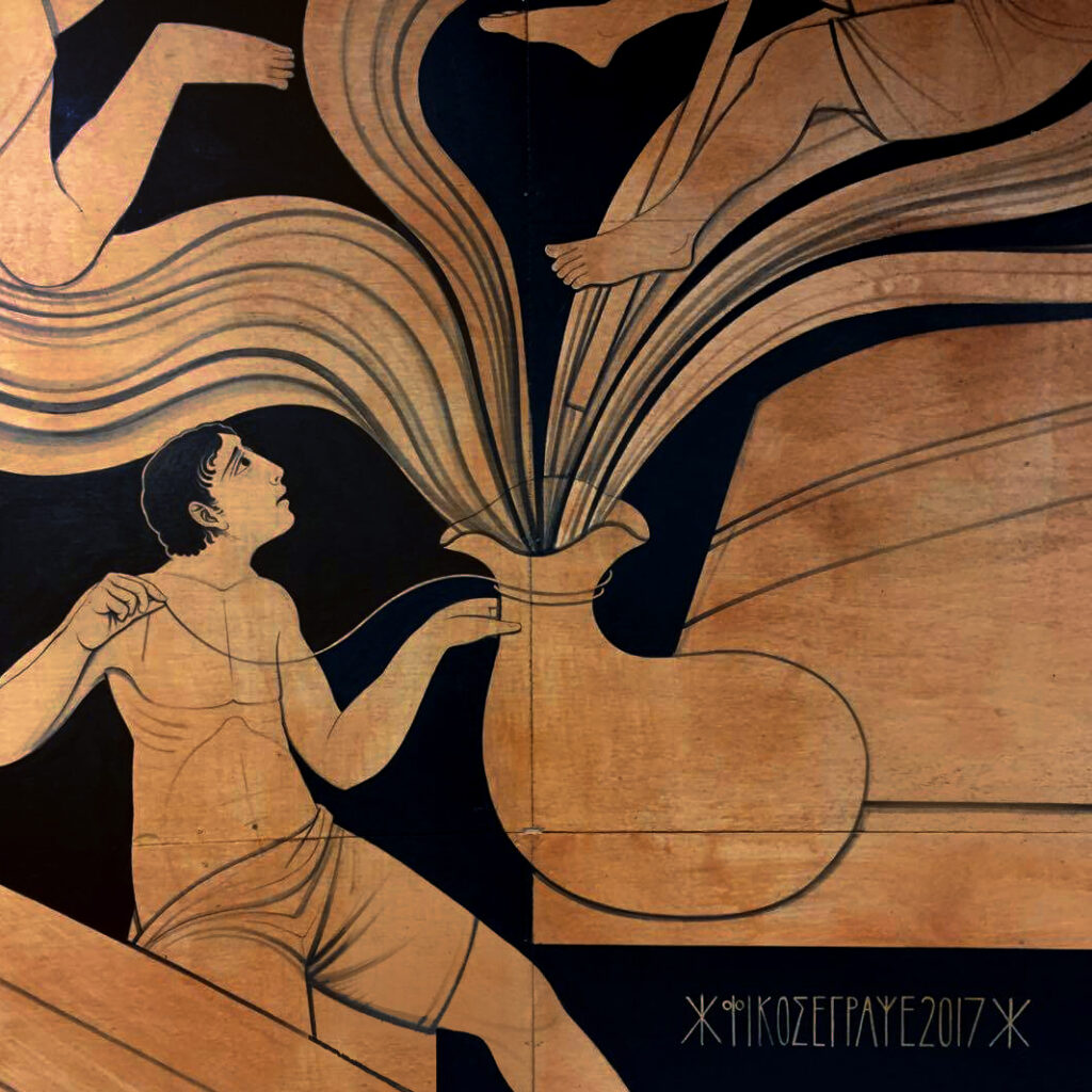 Fikos: Painter of the Largest Mural in Greek and Byzantine Art History 6