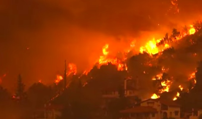 What's the latest on the Greek forest fires? 3