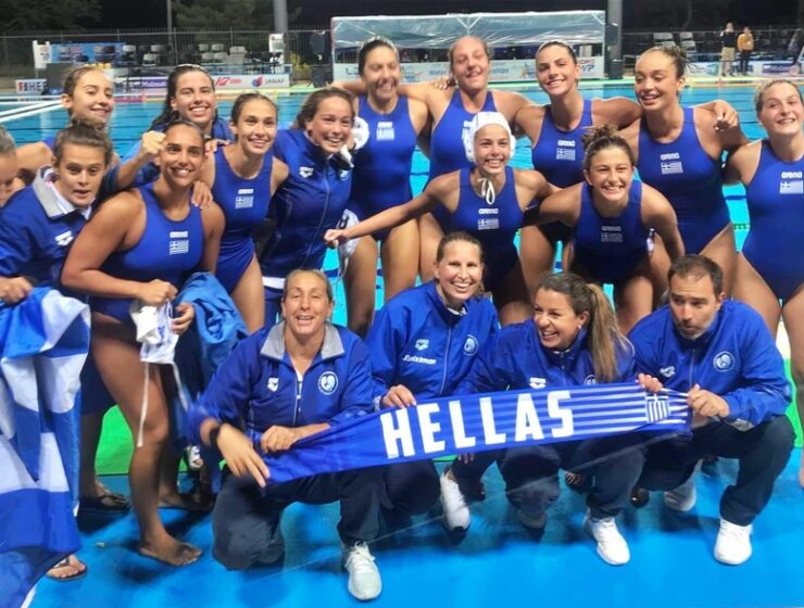After beating Italy, Greece swims to victory with silver medal at Women's European Junior Championships 2