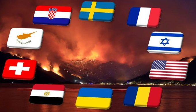 Greek President and Prime Minister thank countries helping Greece in firefighting efforts 3
