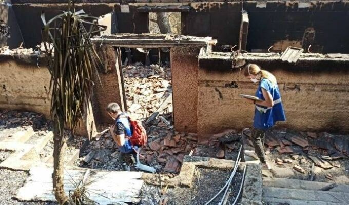GREECE ON FIRE: 1,900 autopsies on buildings and infrastructure have been carried out 10