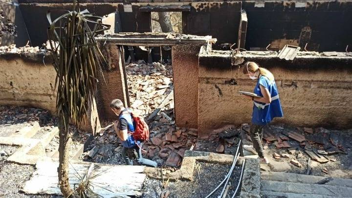 GREECE ON FIRE: 1,900 autopsies on buildings and infrastructure have been carried out 2