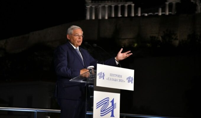 Greece has a bright future and is an ideal partner for the US: Senator Menendez 3