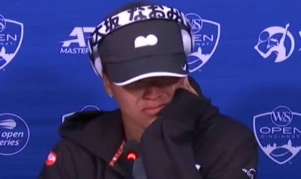 Tennis superstar Naomi Osaka breaks down in tears after questioned by journalist 1