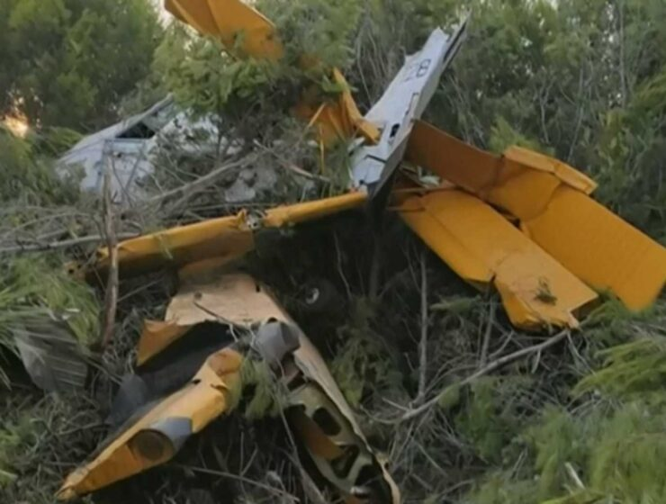 Airplane crashes in Zakynthos during firefighting efforts 1