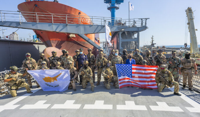 U.S. Navy SEALS and Cyprus National Guard's Special Operation Forces are conducting joint exercises 8