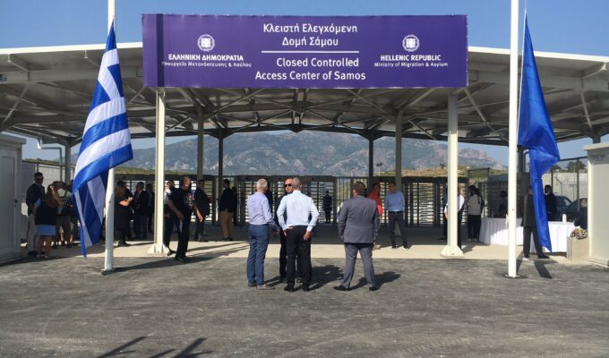 Greece opens its first 'closed' camp for asylum seekers 3