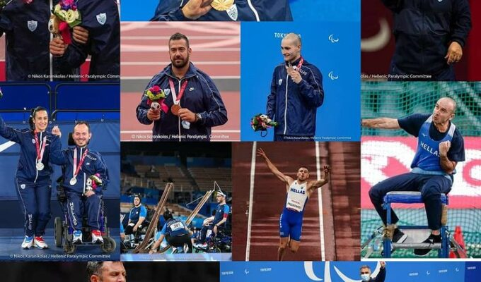 Tokyo's closing ceremony to a memorable Paralympics, Greece with 11 Medals 6