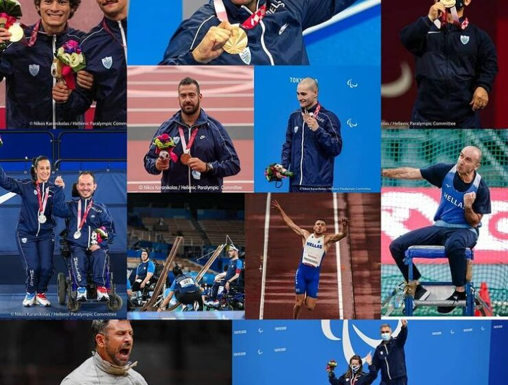 Tokyo's closing ceremony to a memorable Paralympics, Greece with 11 Medals 1