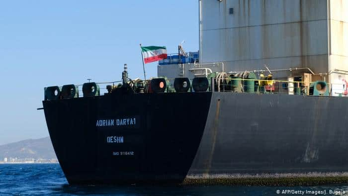 Iranian oil freighter