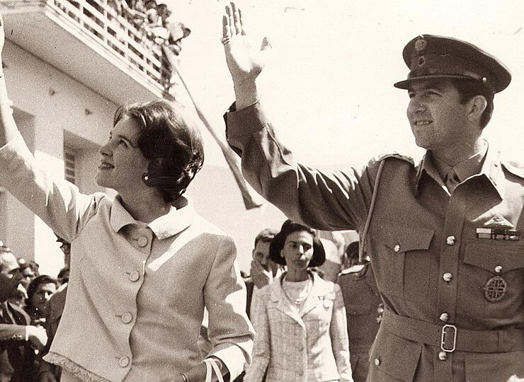 On This Day September 18, 1964 the wedding of King Constantine and Anne-Marie 1