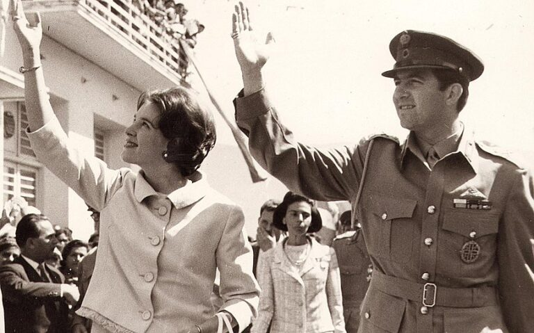On This Day September 18, 1964 the wedding of King Constantine and Anne-Marie