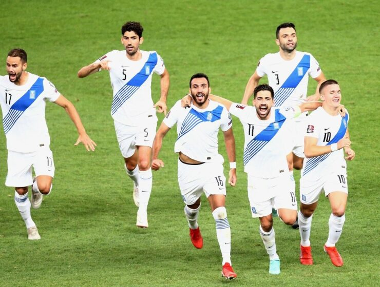 Greece 2-1 Sweden in FIFA 2022 World Cup Qualifier. Our hopes for WCQ are still alive. 2