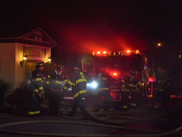 FIRE AT DORMITION OF THE VIRGIN MARY GREEK ORTHODOX CHURCH IN SOMERVILLE