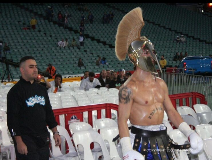 The number 1 fight is on! Bobby 'The Spartan Warrior' Antonakos vs Anthony 'The Man' Mundine 24