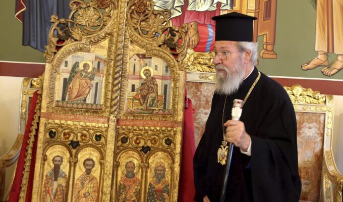 Cyprus recovers looted 18th century church doors from Japan 3