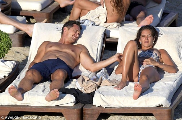 Hollywood Star James Franco spotted in Mykonos with Isabel Pakzad 24