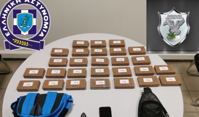 THESSALONIKI: Foreign national busted in possession of 13 kilos of heroin 8