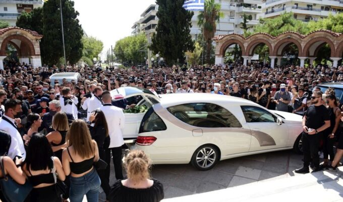 Thousands attend funeral of Greek American rapper Mad Clip 10